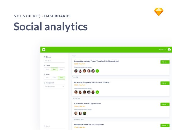 Social Analytics Dashboards