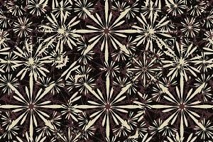Luxury Dark Floral Pattern