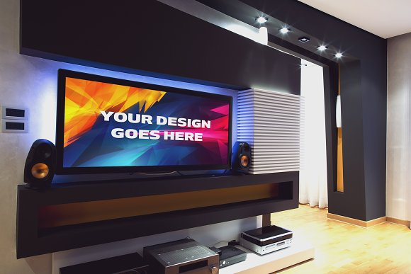 Television Mock-up 7