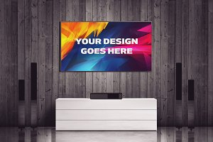 Television Mock-up 5