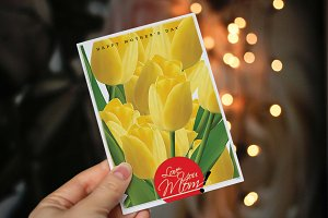 Mother's Day Greeting Card - V03