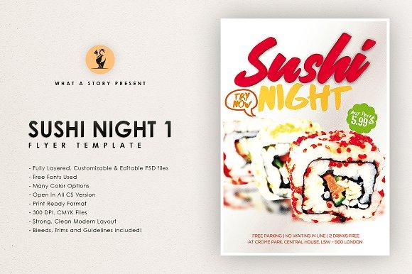 Sushi Night 1