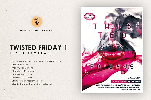 Twisted Fridays 1
