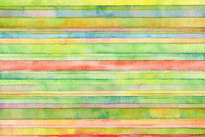 strip watercolor painted background