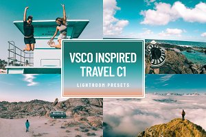 VSCO C1 Travel Lightroom Presets