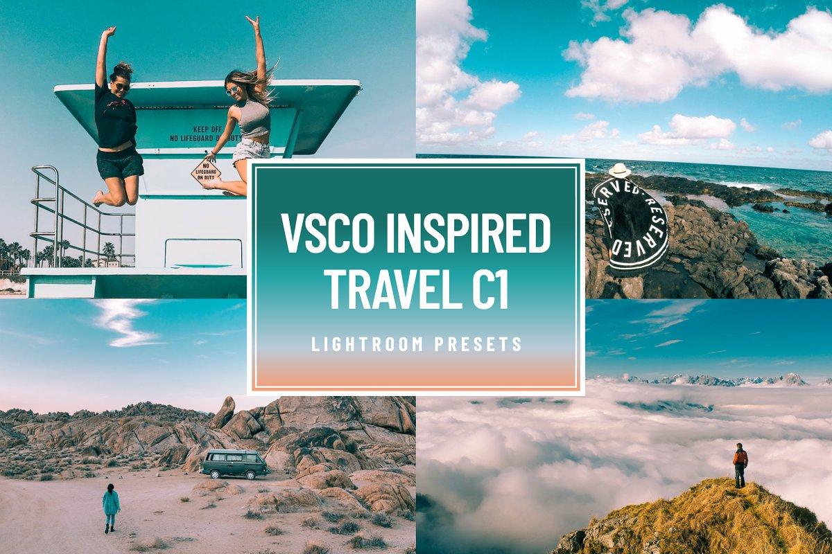 VSCO C1 Travel Lightroom Presets ~ Lightroom Presets ~ Creative Market