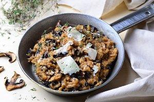 Delicious Mushroom Risotto
