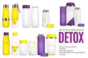 Detox Water Set