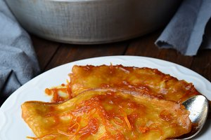 Crepe Suzette, Crepes with Orange Sauce