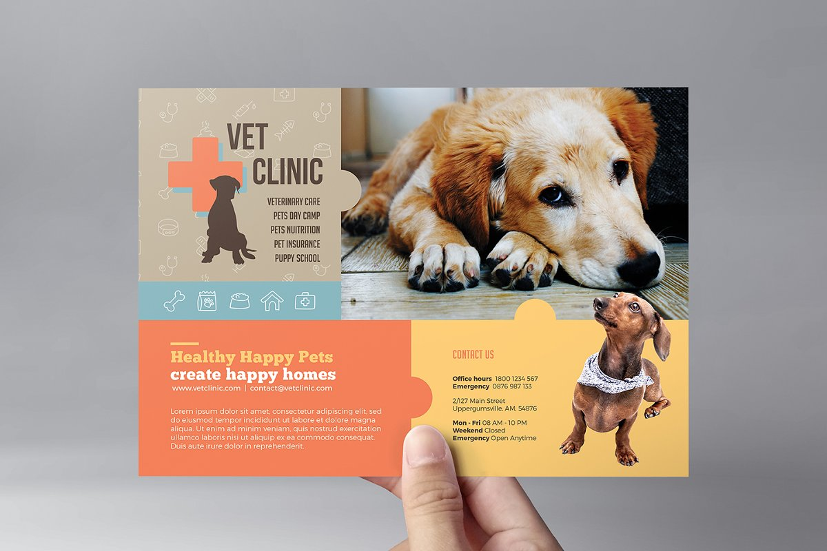 dog walking flyer template free.html