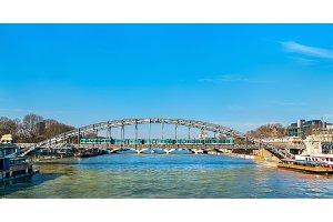Viaduc d'Austerlitz, a metro bridge across the Seine in Paris