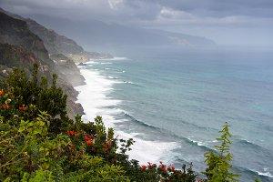 Coastal landscape in Madeira