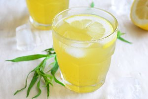 Tarragon Lemonade, Natural Refreshing Drink
