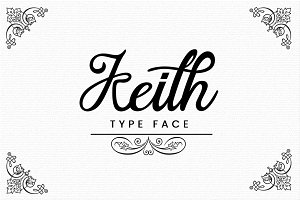 Keith Typeface