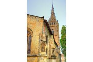 Saint Eulalie church in Bordeaux, France