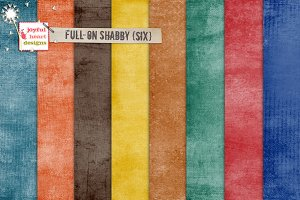 Full-On Shabby {six}