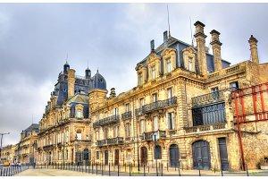 Chateau Descas, a historic building in Bordeaux, France