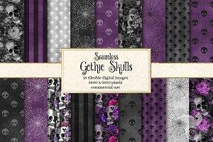 Gothic Skull Patterns