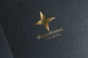 Magnificious - Star Logo Design