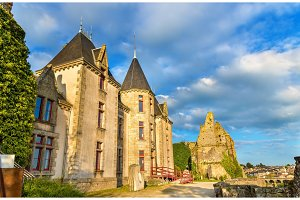 Chateau de Bressuire, a castle in France