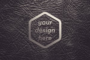Leather Surface Mock-up 10