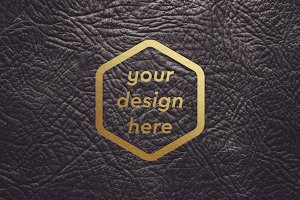 Leather Surface Mock-up 9