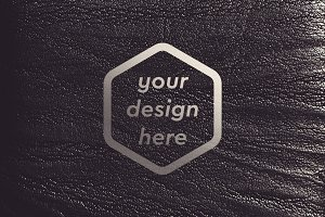 Leather Surface Mock-up 8