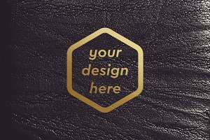 Leather Surface Mock-up 7