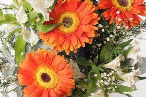 Flower bouquet gerbera