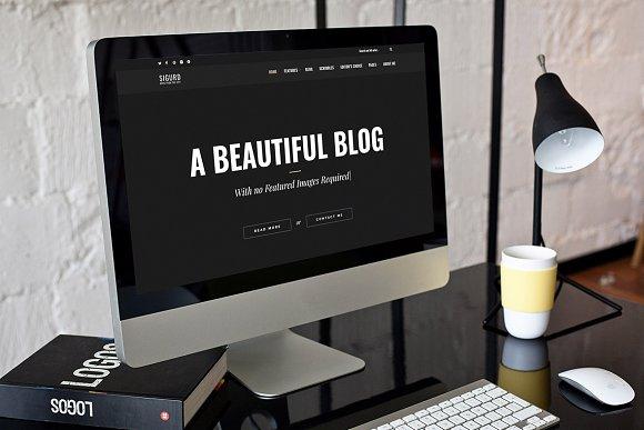 Sigurd WordPress Theme For Writers