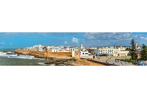 Cityscape of Essaouira, a UNESCO world heritage site in Morocco