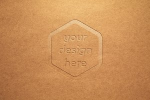 Paper Surface Mock-up 5