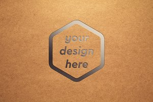 Paper Surface Mock-up 3