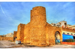 Ancient city walls of Safi, Morocco