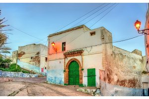 Building in the old town of Safi, Morocco