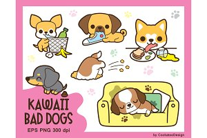 Kawaii bad dogs