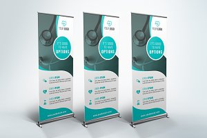Medical Roll Up Banner