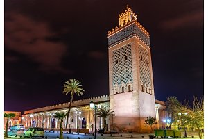 Moulay El Yazid Mosque in Marrakesh, Morocco
