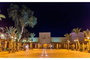 Carre de Ferblantiers, a square in Marrakesh, Morocco