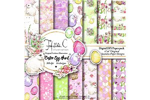 Easter Egg Hunt Paper Pack