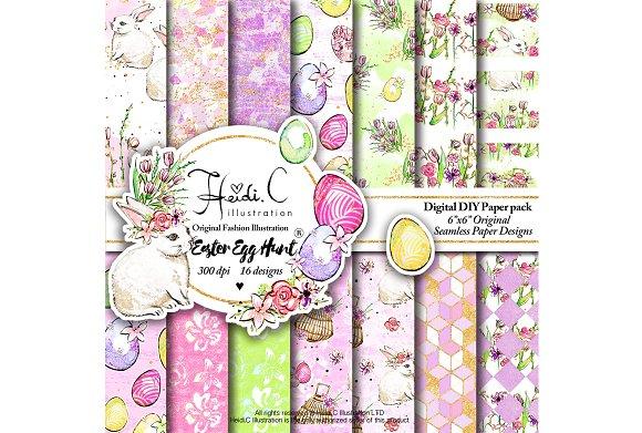 Easter Egg Hunt Paper Pack