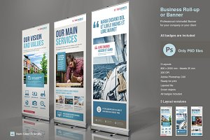 Business Roll-up Vol. 9 PSD