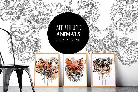 Steampunk Animals