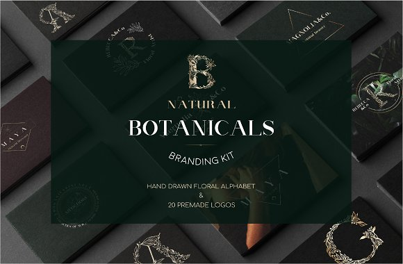 Natural Botanicals-Branding Kit