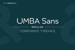 Umba Sans Regular