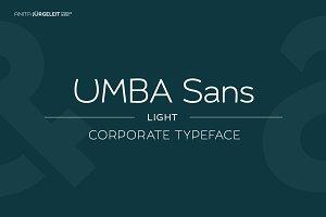 Umba Sans Light
