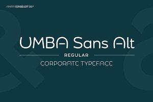 Umba Sans Alt Regular