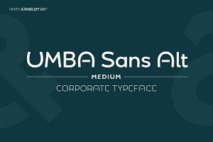 Umba Sans Alt Medium