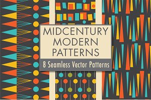 Mid Century Modern Patterns Vol 3