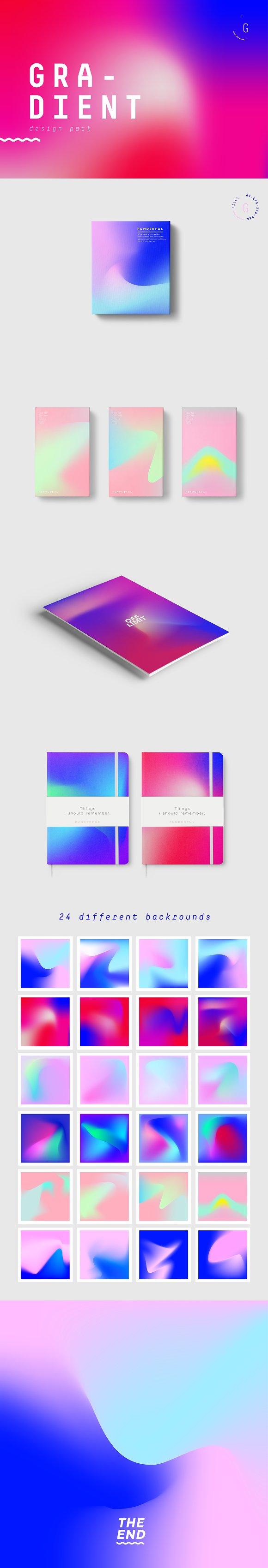 Gradient Design Pack